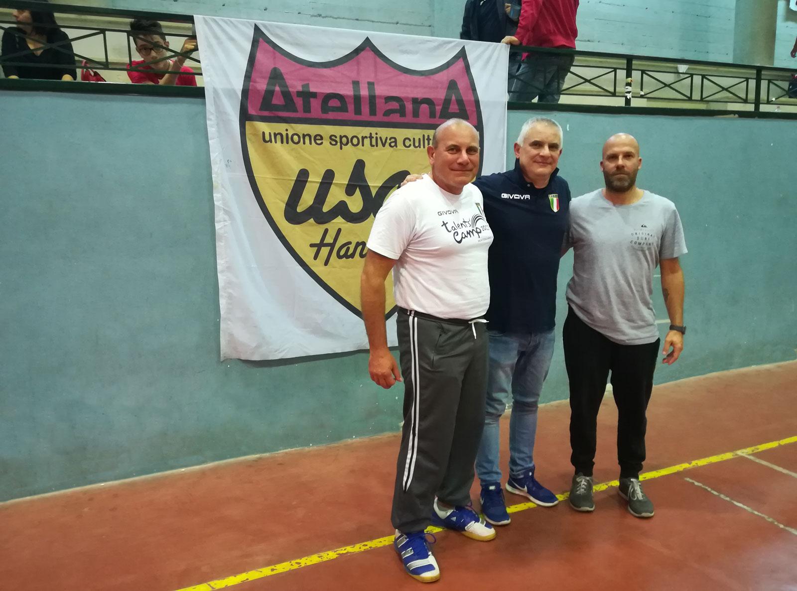 L'Handball Day area 7 al PalaLettieri